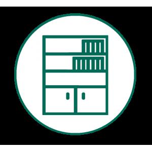 Βιβλιοθήκη - Συρταριέρα
